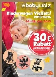 Baby Walz Kinderwagen Vielfalt Oktober 2013 KW42