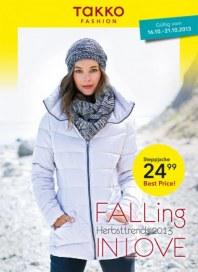 Takko Fashion FALLing IN LOVE Oktober 2013 KW42