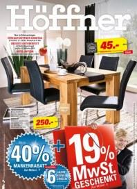 Höffner Höffner - Wo Wohnen wenig kostet Oktober 2013 KW42 1
