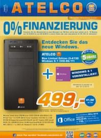 ATELCO Computer 0% Finanzierung Oktober 2013 KW42