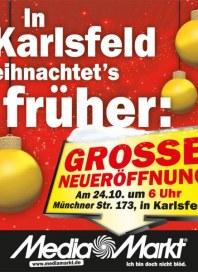 MediaMarkt In Karlsfeld weihnachtets früher Oktober 2013 KW42