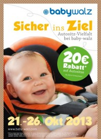 Baby Walz Sicher ins Ziel Oktober 2013 KW43