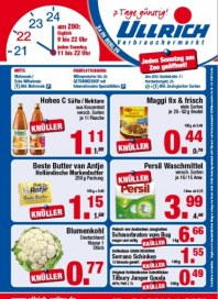 Ullrich Verbrauchermarkt Aktuelle Angebote Oktober 2013 KW43
