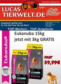 Lucas Tierwelt Top Marken - Top Angebote Oktober 2013 KW43