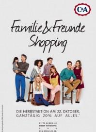 C&A Familie & Freunde Shopping Oktober 2013 KW42