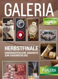 Galeria Kaufhof Herbstfinale Oktober 2013 KW43