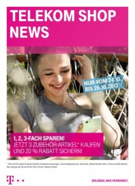 Telekom Shop Telekom Shop News Oktober 2013 KW43 2