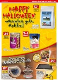 Das Futterhaus Happy Halloween Oktober 2013 KW43