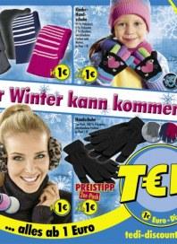 Tedi Der Winter kann kommen November 2013 KW45