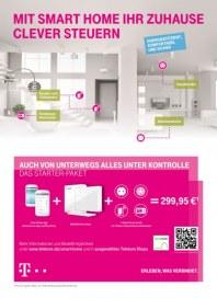 Telekom Shop Mit Smart Home Ihr Zuhause clever steuern Oktober 2013 KW44