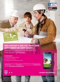 Telekom Shop Maßgeschneiderte Angebote für Selbstständige Oktober 2013 KW44