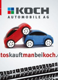 Koch Automobile Autos kauft man bei Koch November 2013 KW44