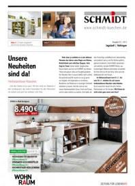Schmidt Küchen Unsere Neuheiten sind da November 2013 KW44
