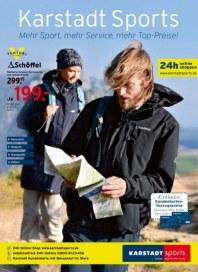 KARSTADT Karstadt sports - Mehr Sport, mehr Service, mehr Top-Preise November 2013 KW44