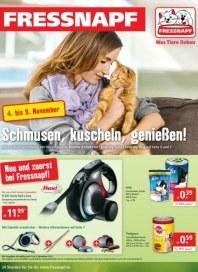 Fressnapf Schmusen, kuscheln, genießen November 2013 KW44