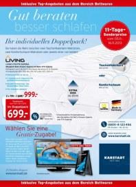 KARSTADT Matratzen & Bettwaren - Gut beraten besser schlafen November 2013 KW45