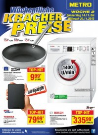 Metro Cash & Carry Preiskracher November 2013 KW45