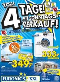 Euronics Tolle 4 Tage mit Sonntagsverkauf November 2013 KW45