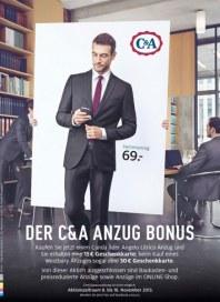 C&A Herren Anzug November 2013 KW45