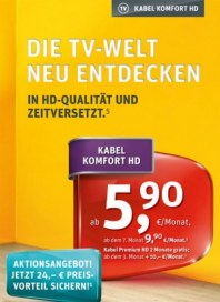 Kabel Deutschland Die TV-Welt neu entdecken November 2013 KW46