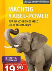 Kabel Deutschland Mächtig Kabel-Power November 2013 KW46