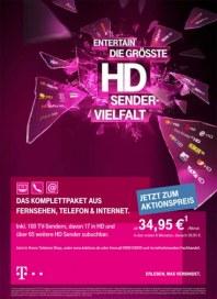 Telekom Shop Entertain - Die größte HD Sender Vielfalt November 2013 KW45