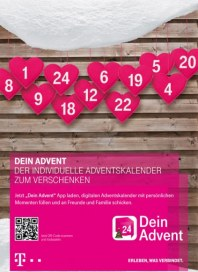Telekom Shop Dein Advent November 2013 KW46