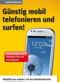 Kabel Deutschland Günstig mobil telefonieren und surfen November 2013 KW46