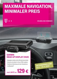 Telekom Shop Maximale Navigation, minimaler Preis November 2013 KW46