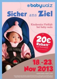 babywalz Kindersitz Vielfalt November 2013 KW47