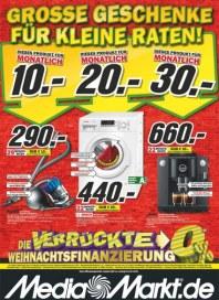 MediaMarkt Große Geschenke für kleine Raten November 2013 KW47