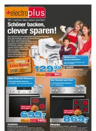 electroplus Schöner backen, clever sparen November 2013 KW47