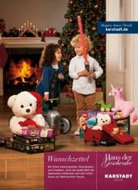KARSTADT Spielwaren - Wunschzettel November 2013 KW48