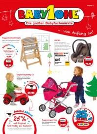 BabyOne Unsere Weihnachtsangebote November 2013 KW48