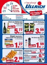 Ullrich Verbrauchermarkt Knüller Dezember 2013 KW49