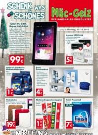 Mäc-Geiz Aktuelle Angebote Dezember 2013 KW49