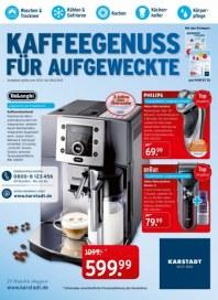 KARSTADT Elektro - Kaffeegenuss für Aufgeweckte Dezember 2013 KW49
