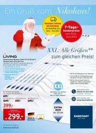 KARSTADT Matratzen & Bettwaren - Ein Gruß vom Nikolaus Dezember 2013 KW49