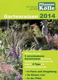 Pflanzen Kölle Gartenreisen 2014 Dezember 2013 KW49