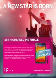 Telekom Shop A new star is born Dezember 2013 KW49