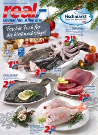 real,- Frischer Fisch für die Weihnachtstage Dezember 2013 KW50
