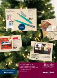 KARSTADT Haus der Geschenke - Inspirierende Geschenkideen aus Papeterie und Schreibwaren Dezember 20