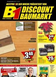 B1 Discount Baumarkt Aktuelle Angebote Dezember 2013 KW49