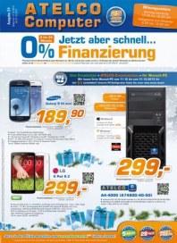 ATELCO Computer 0% Finanzierung Dezember 2013 KW50