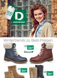 Deichmann Wintertrends zu Best-Preisen Dezember 2013 KW50