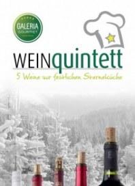 Galeria Kaufhof Weinquintett 20130129 Dezember 2013 KW50