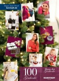 KARSTADT Haus der Geschenke - 100 Geschenke Dezember 2013 KW50