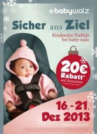 Baby Walz Sicher ans Ziel Dezember 2013 KW51