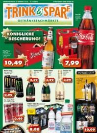 Trink und Spare Königliche Bescherung Dezember 2013 KW51