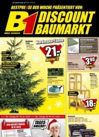B1 Discount Baumarkt Aktuelle Angebote Dezember 2013 KW50 1